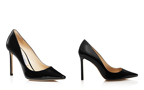 Jimmy Choo Women's Romy 100 Patent Leather High Heel Pointed Toe Pumps - Bloomingdale's_2